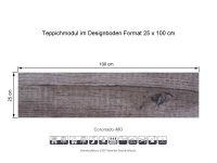 INFLOOR Teppichmodule Coronado MO 021 selbsthaftend