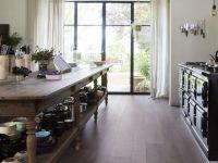 Vorschau: BERRYALLOC Laminat Glorious XL Gyant Dark Brown Küche