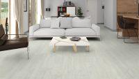 Vorschau: Tarkett Klebevinyl ID Essential 30 Washed Pine SNOW Wohnzimmer