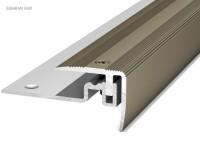 Prinz Treppenkantenprofil 422 Edelstahl matt