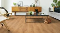 Tarkett Klickvinyl ID Inspiration Click Solid 55 CLASSICS Rustic Oak Warm Natural Wohnzimmer