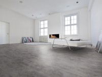 Vorschau: Vinylboden Steinoptik Bordeaux Ocean grey