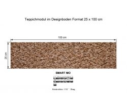 GIRLOON Teppichmodule SMART MO 231 selbsthaftend