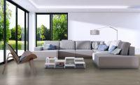 Vorschau: TFD Floortile Klebevinyl Woven L+ Ombre 403 Wohnzimmer