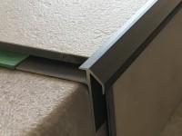 Treppenkantenprofil 492 bronze dunkel