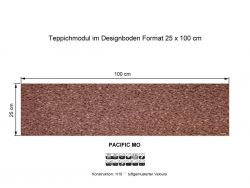 GIRLOON Teppichmodule PACIFIC MO 740 selbsthaftend