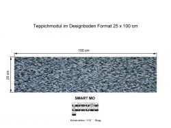 GIRLOON Teppichmodule SMART MO 441 selbsthaftend
