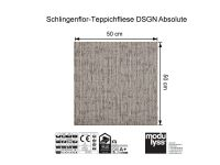 Vorschau: Modulyss Teppichfliese DSGN Absolute 061 Maß