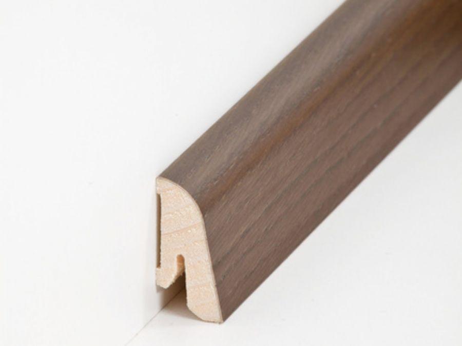 Holz Sockelleiste Modern Räuchereiche 19 x 38 mm