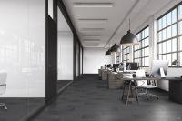 TFD Floortile Klebevinyl Woven L+ Ombre 405 Büro