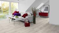 Vorschau: Tarkett Klickvinyl ID Inspiration Click Solid 55 CLASSICS Rustic Oak Light Grey Wohnzimmer