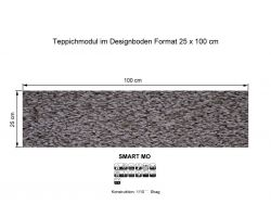GIRLOON Teppichmodule SMART MO 541 selbsthaftend