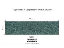 GIRLOON Teppichmodule TRIO MO 453 selbsthaftend