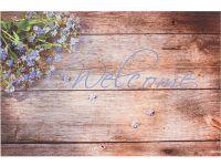 Vorschau: Gummimatte Eco Living Lavendel Welcome