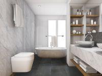 TFD Floortile Klebevinyl Style Stone GS641 Badezimmer