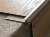 Treppenkantenprofil 491 Edelstahl matt