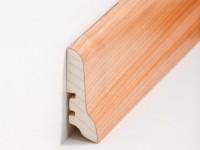 Holz Sockelleiste Klassisch Kirsche 20 x 60 x 2500 mm