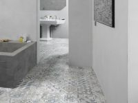 Vorschau: BERRYALLOC Laminat Impulse Retro Chic Blue Grey Badezimmer