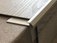 Vorschau: Aluminium Treppenkantenprofil 491 silber