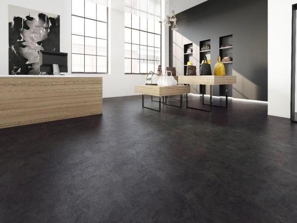 Klick Vinylboden Design 555 Black Slate
