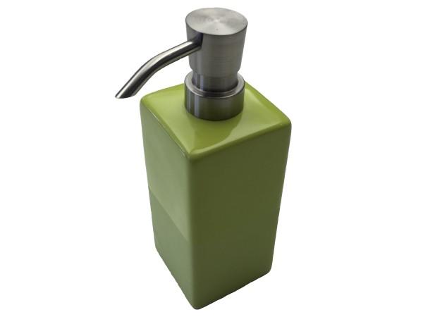 Seifenspender Paintbox grün 18,5 cm