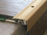 Treppenkantenprofil 351 gold