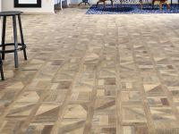 Vorschau: JOKA Klebevinyl Vinylboden Design 555 Brown Tetris Wood