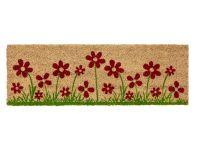 Vorschau: Kokosmatte Coco Style Blumenwiese 25 x 75 cm