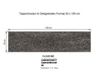 INFLOOR Teppichmodule CLOUD MO 561 selbsthaftend