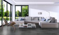 Vorschau: TFD Floortile Klebevinyl Style Stone GS641 Wohnzimmer