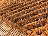 Vorschau: Kokosmatte Coco Brush Allround rechteckig Detailbild
