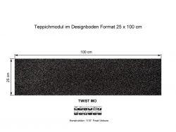 Girloon Teppichfliesen Twist Mo 780 selbsthaftend