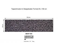 GIRLOON Teppichmodule SMART MO 561 selbsthaftend