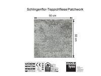 Vorschau: Modulyss Teppichfliese Patchwork 907 Maß