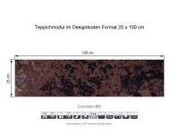 INFLOOR Teppichmodule Coronado MO 006 selbsthaftend