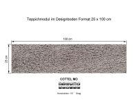 Infloor Teppichfliesen Cottel Mo 865 selbsthaftend