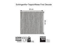 Modulyss Teppichfliese First Decode 914