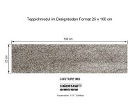 INFLOOR Teppichmodule COUTURE MO 871 selbsthaftend