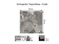 Modulyss Teppichfliese Fluid& 850