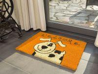 Vorschau: Kokosmatte Coco Style Welcome Hund Eingang