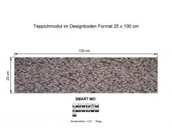 GIRLOON Teppichmodule SMART MO 841 selbsthaftend