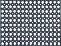Gummimatte Profil schwarz