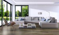 Vorschau: TFD Floortile Klebevinyl 1,5 Plank 500-4 Wohnzimmer