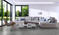 Vorschau: TFD Floortile Klebevinyl Woven L+ Herringbone 502 Wohnzimmer