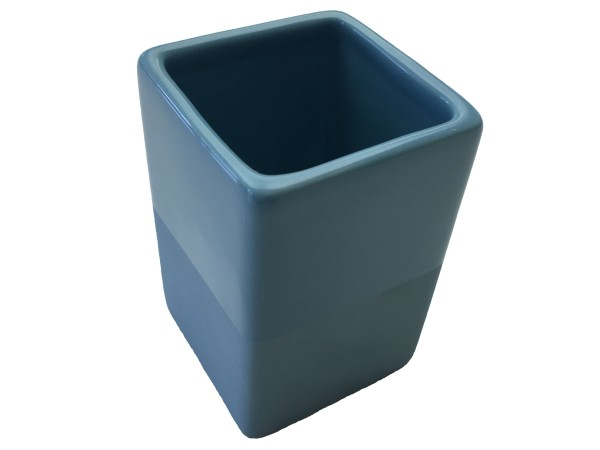 Zahnputzbecher Paintbox blau