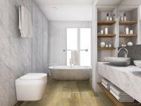 Vorschau: TFD Floortile Klebevinyl Style Pro 8 Badezimmer