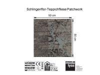 Vorschau: Modulyss Teppichfliese Patchwork 610 Maß