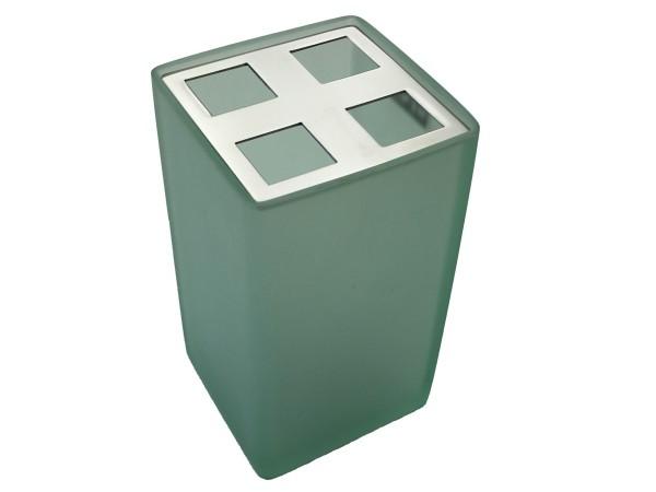 Zahnbürstenbecher Sorano grün