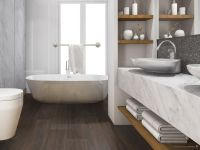 Vorschau: TFD Floortile Magnetboden Innovative Register MAG-RE15-4 Badezimmer