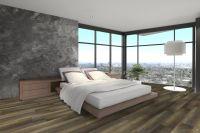 Vorschau: TFD Floortile Klebevinyl 1,5 Plank 500-4 Schlafzimmer